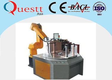 Fiber Laser Industrial Robotic Automation System 2100mm Arm For Metal / Non Metal